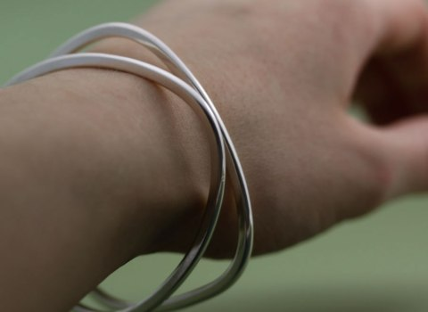 Mjukhörning som armband
